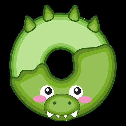 Crocodile donut kawaii