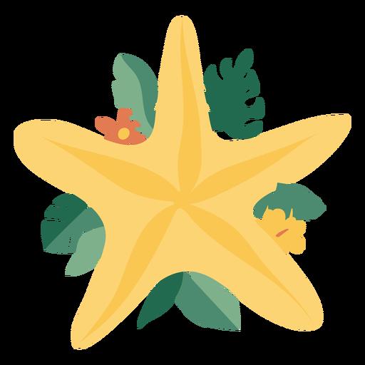 Christmas decoration flat starfish
