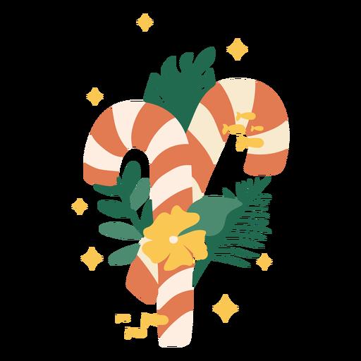 Color cepillado a mano de Navidad tropical - 13