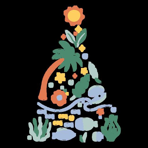 Natal Tropical Escovado à Mão - 15