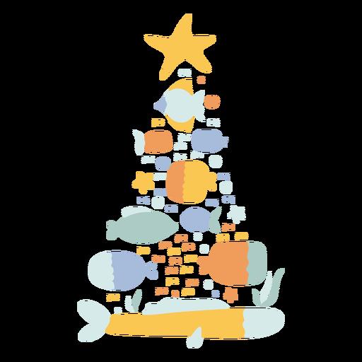Natal Tropical Escovado à Mão - 17