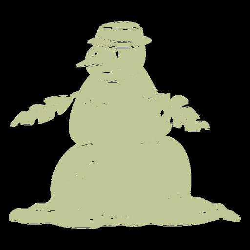 Sillhouette de Natal tropical escovado à mão - 17