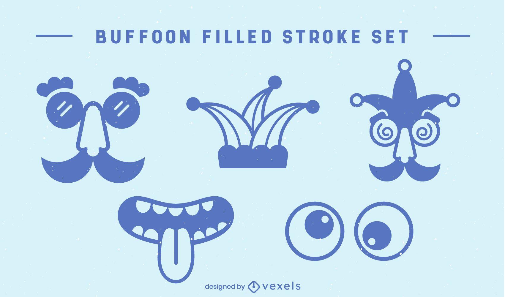 Buffoon elements comedy set
