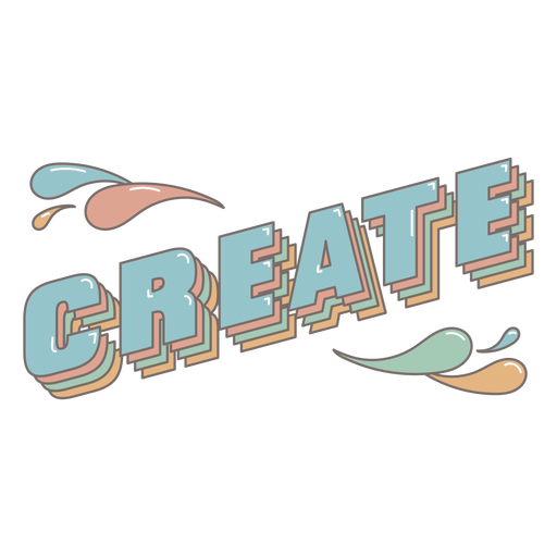 Create 3D quote lettering