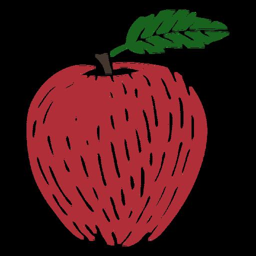 Apple color cut out