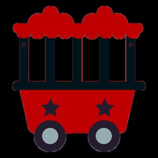 Train wagon flat