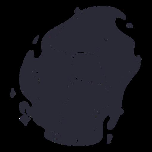 Vinilo del contorno del cuaderno espacial - 10