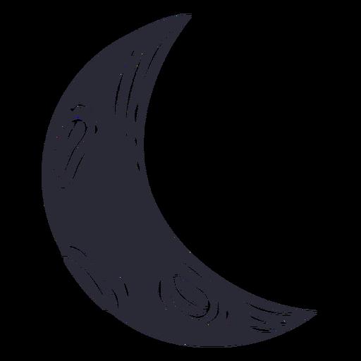 Half moon cut out