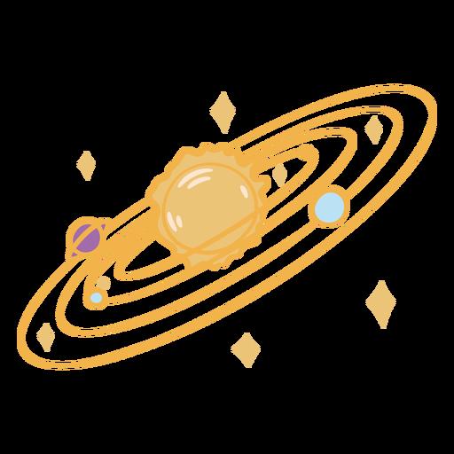 Color de contorno del cuaderno espacial - 0