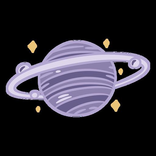 Planet color doodle