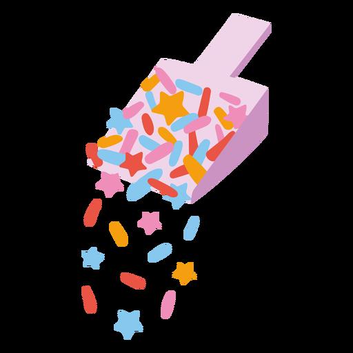 Sprinkles scoop semi flat
