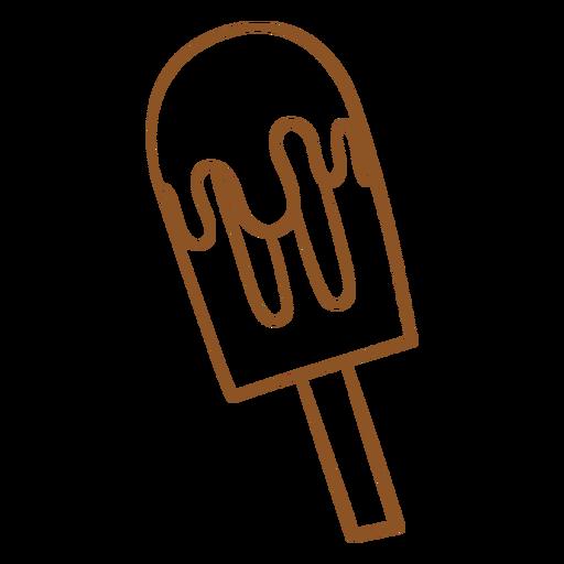 Popsickle ice cream doodle