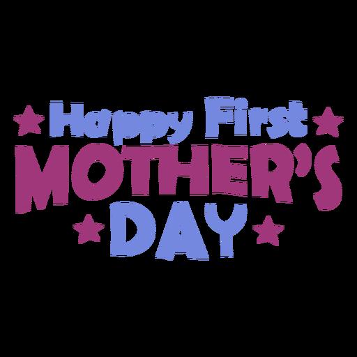 Letras do primeiro dia das mães