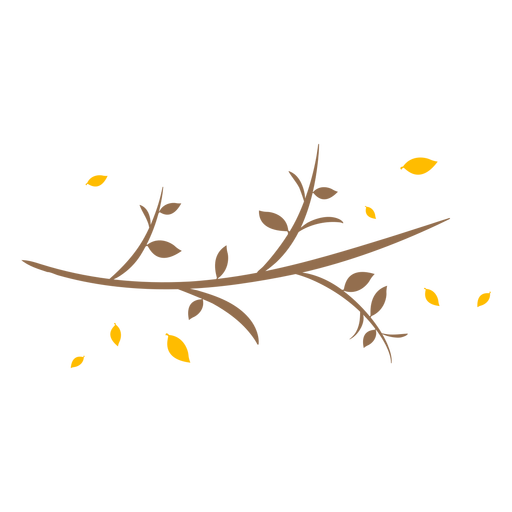 Curved branch flat