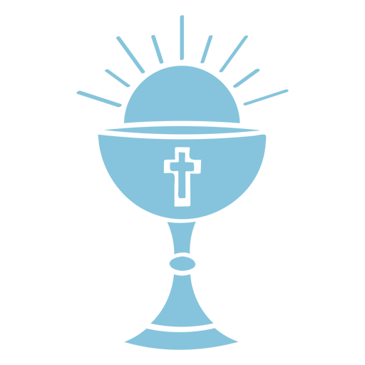 Christian goblet cut out