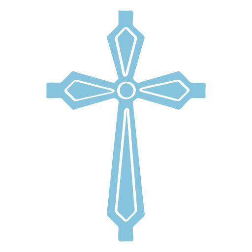 Catholic cross cut out