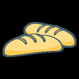 Bread color stroke