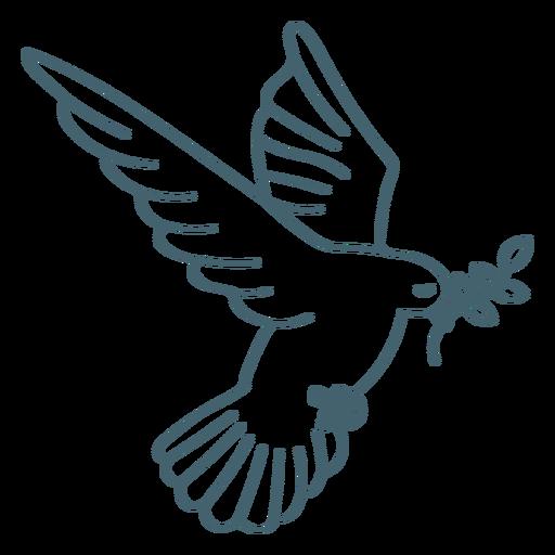 Dove holy spirit communion stroke