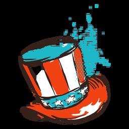 elementos del día de la independencia de estados unidos vintage - 14