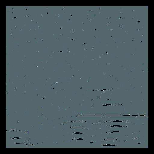 Winter mountains tile