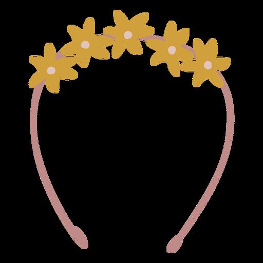 Flower crown flat