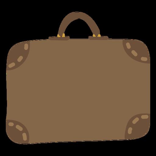 Work briefcase flat