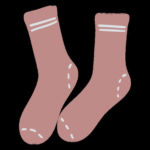 Short socks flat