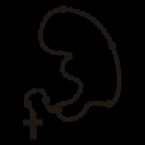 Cross necklace christian religion