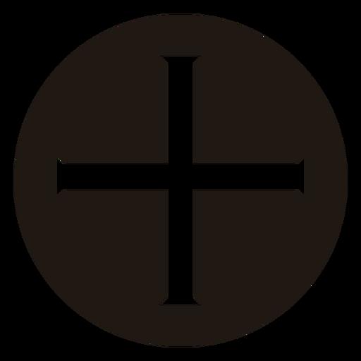 Cross in circle religion