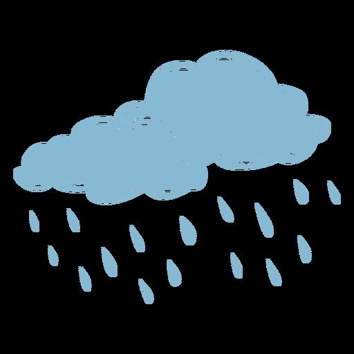 Raining clouds weather