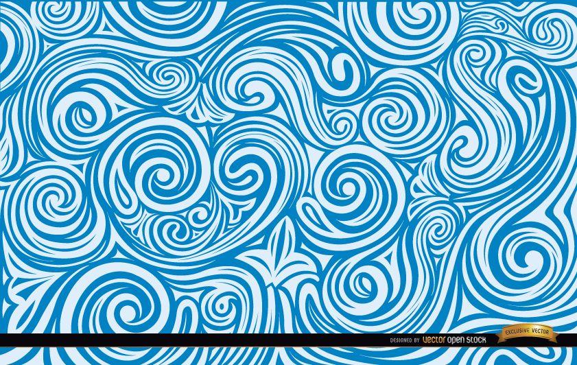Artistic liquid Swirls