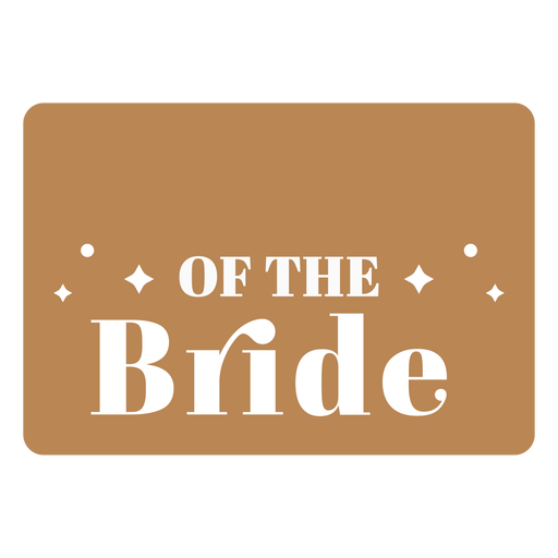 Bride wedding blank badge