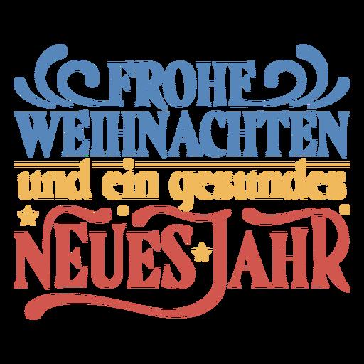 German christmas quote badge
