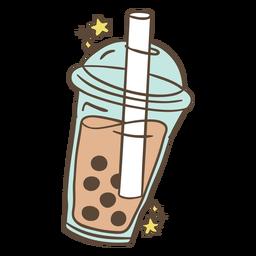 Boba tea illustration