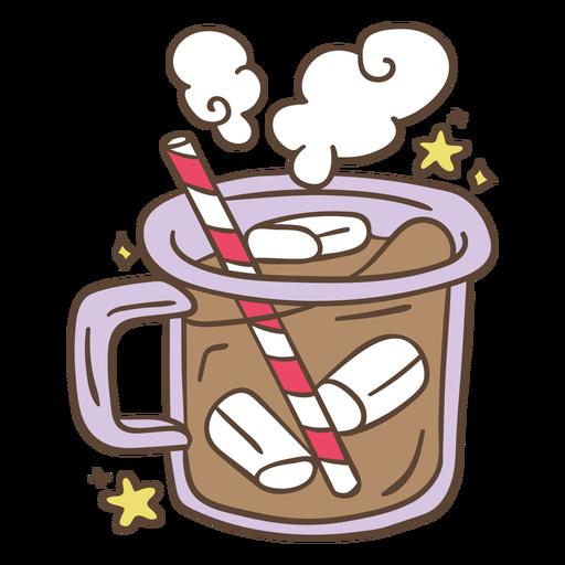 Hot chocolate illustration