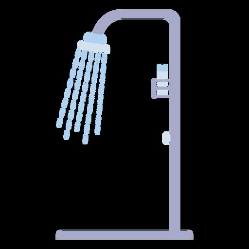 Open shower flat