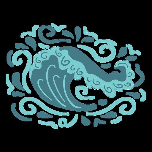 océano arremolinado - 4