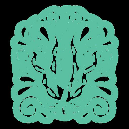 Organic abstract design