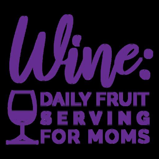 Wine drink funny badge
