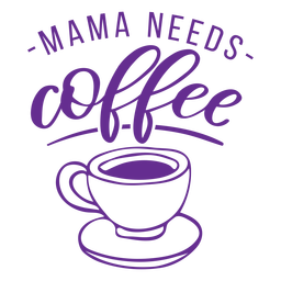 Coffee cup drink badge