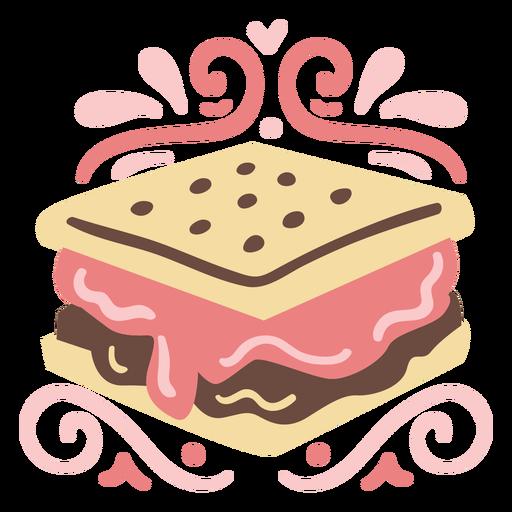 Smore cookie dessert