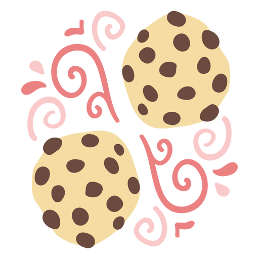 Ornamented cookies doodle color