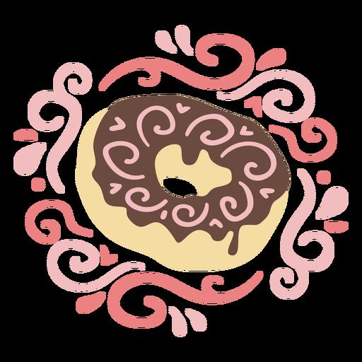 Donut sweet dessert swirls