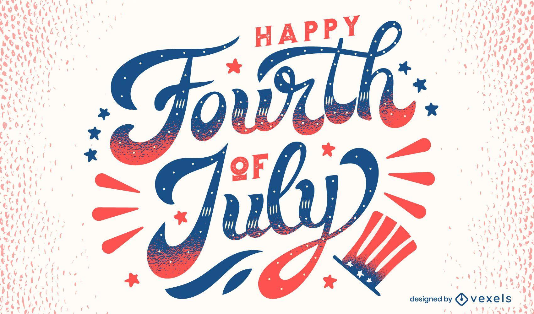Letras de 4 de julho feliz