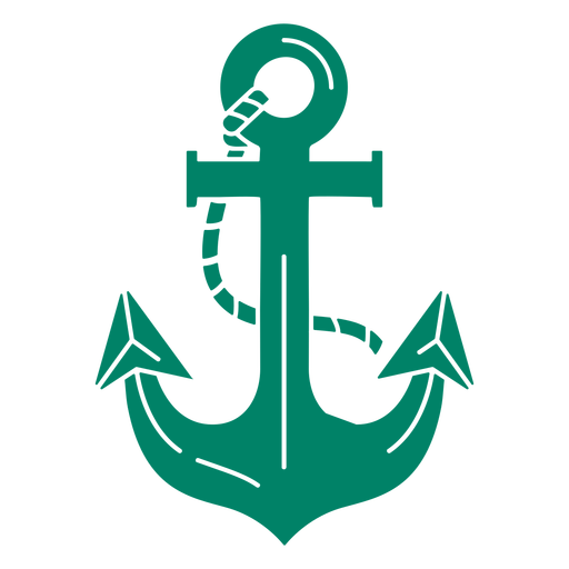 Boat anchor rope cut out