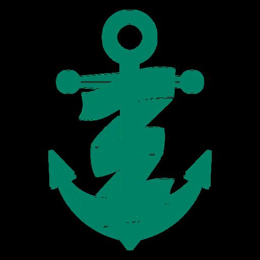 Ship anchor ribbon