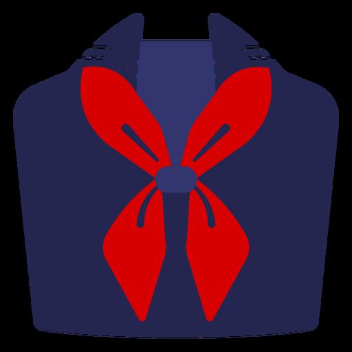Sailor uniform semi flat