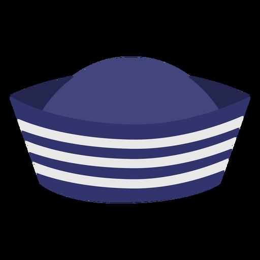 Sailor hat semi flat