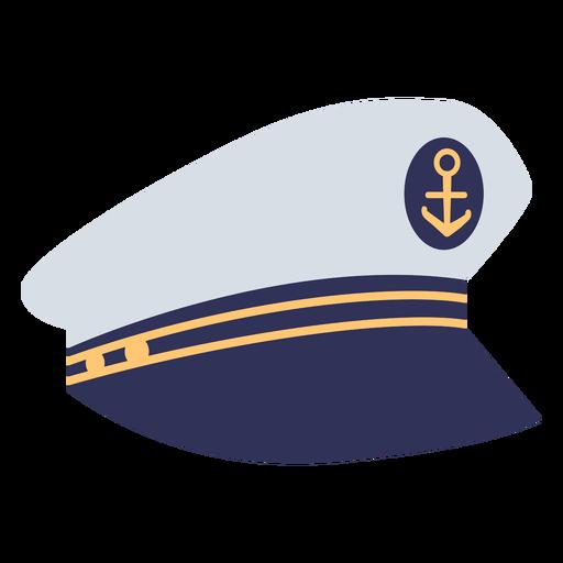 Captain hat flat
