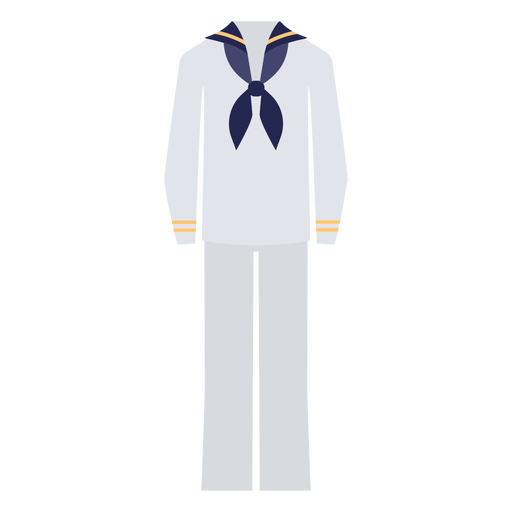 Marine uniform flat